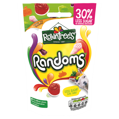 Rowntree's 30% Less Sugar Randoms 110g