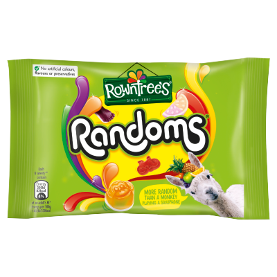 Rowntrees® Randoms Sweets Bag 50g