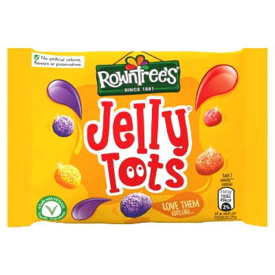 Rowntrees® Jelly Tots 42g