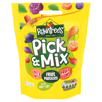 ROWNTREE'S Pick & Mix Sweets Sharing Bag 150g