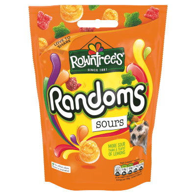 Rowntrees® Sours Sharing Bag 140g