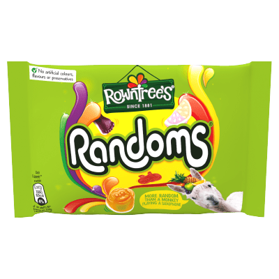 ROWNTREE'S Randoms Sweets Bag 50g