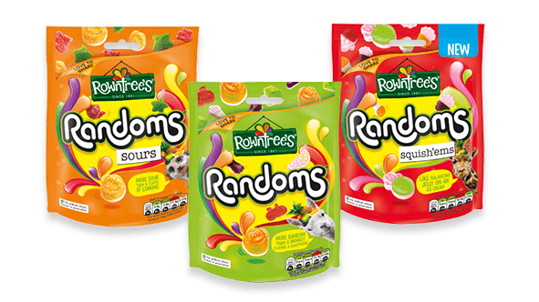 Rowntrees Packs