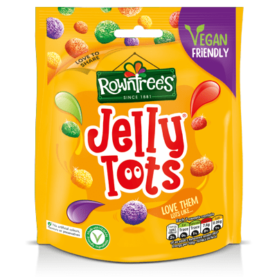Rowntree's Jelly Tots Sweets Sharing Pouch 150g