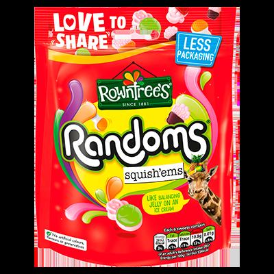 Rowntree's® Randoms Squish'ems Sweets Sharing Bag 140g