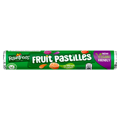 Rowntree's® Fruit Pastilles Vegan Friendly Sweets Tube 50g